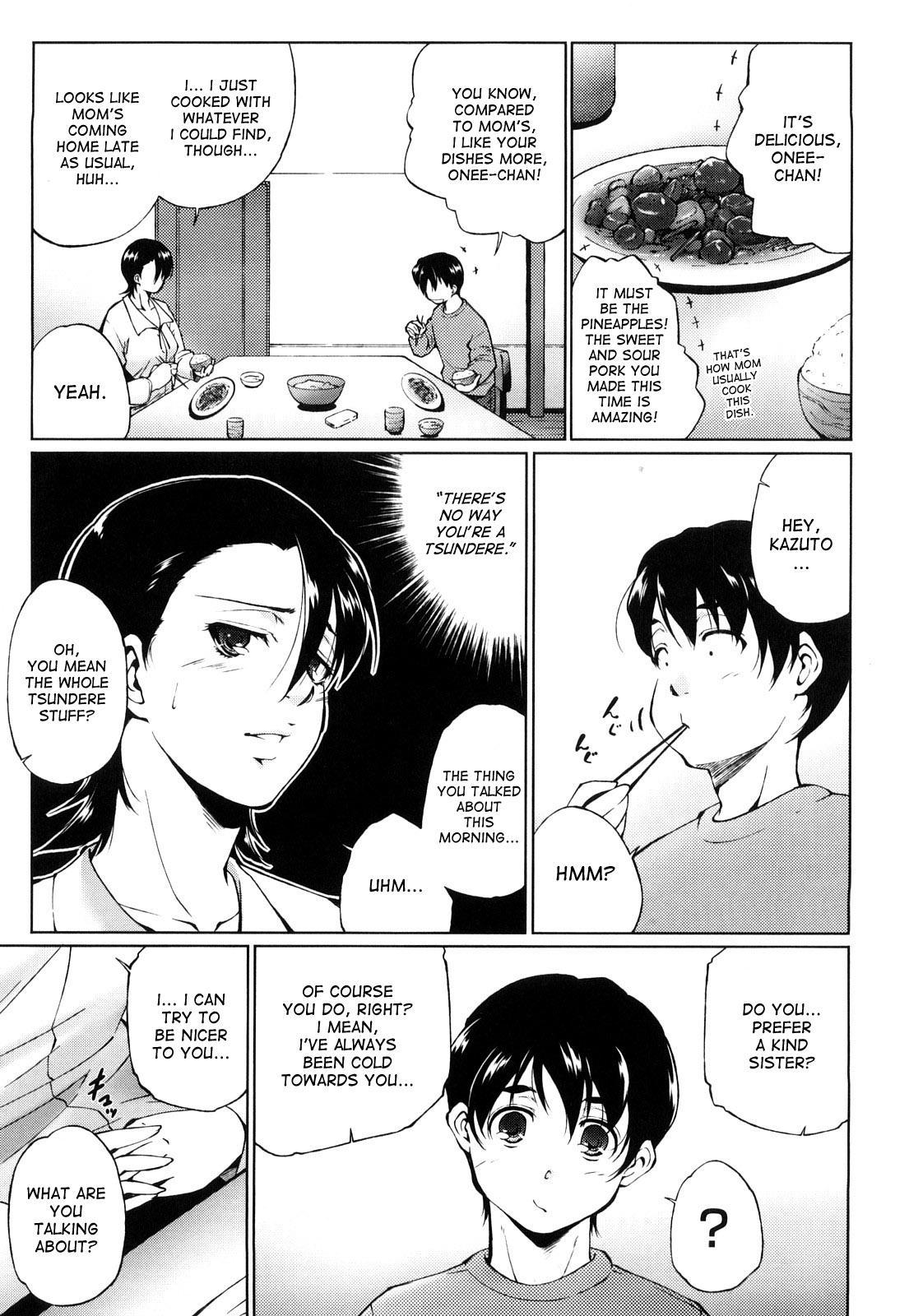 [Touma Itsuki] Ane-sama Inkou - Sister's Sexy Smell [English] {desudesu} 54